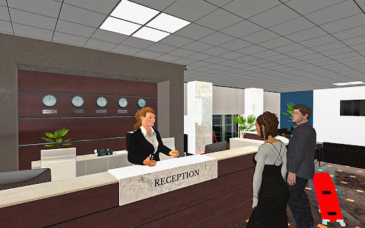 Télécharger Hotel Manager & Waiter Management - Job Simulator APK MOD (Astuce) screenshots 1