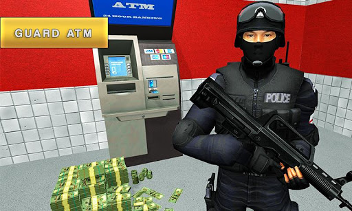 Security Van Driver USA Bank Cash Transport Sim