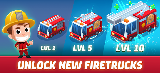 Idle Firefighter Tycoon - Fire Emergency Manager APK 1