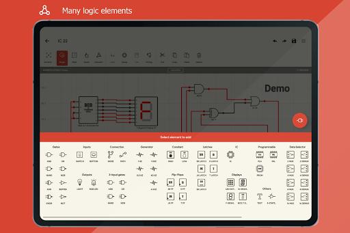Logic Circuit Simulator Pro android2mod screenshots 11