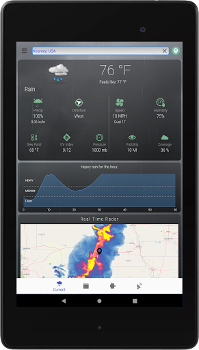 Hyperlocal Weather (Dark Sky Powered by) & Radar screenshots 9