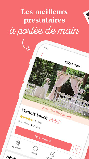 Mariages.net modavailable screenshots 3