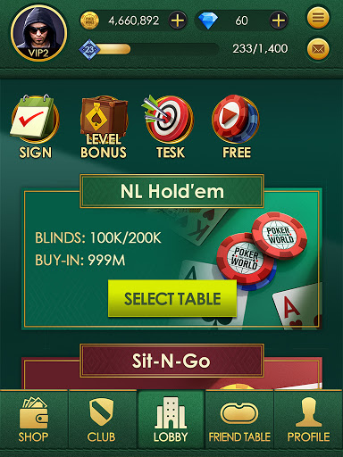 Poker World: Texas hold'em modavailable screenshots 9