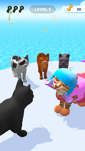 Cats run 3D apkdebit screenshots 5