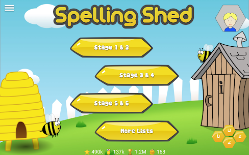 Spelling Shed 8