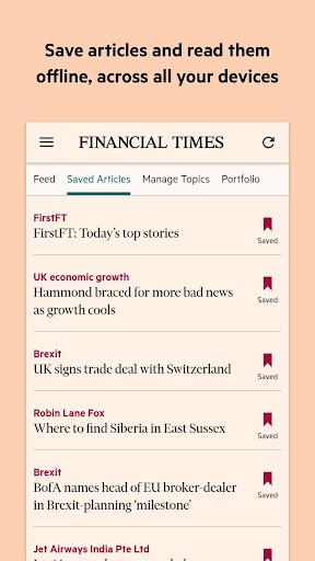 Financial Times 2.87.0 screenshots 2
