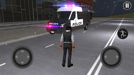 American Police Van Driving: Offline Games No Wifi 1.1 screenshots 2