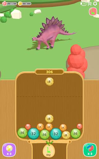 Dino 2048: Merge Jurassic World 1.0.9 screenshots 14
