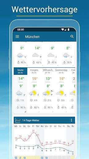 RegenRadar - Vorhersagen & live Wetterradar  screenshots 3