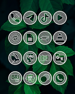 Lines Circle APK White Icon Pack [PAID] Download New Version 5