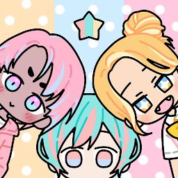 Pastel Friends : Jeux d'Habillage