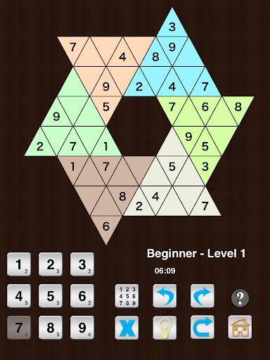 Star Sudoku six large triangle  screenshots 7