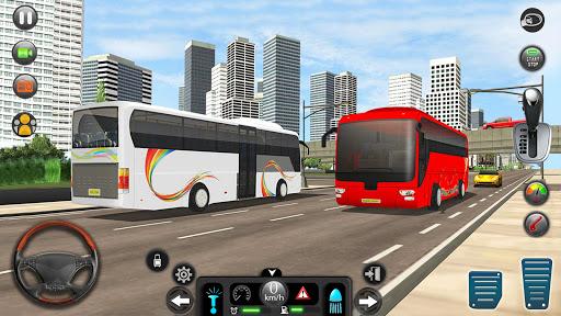 Real Bus Simulator Driving Games New Free 2021 1.7 screenshots 1