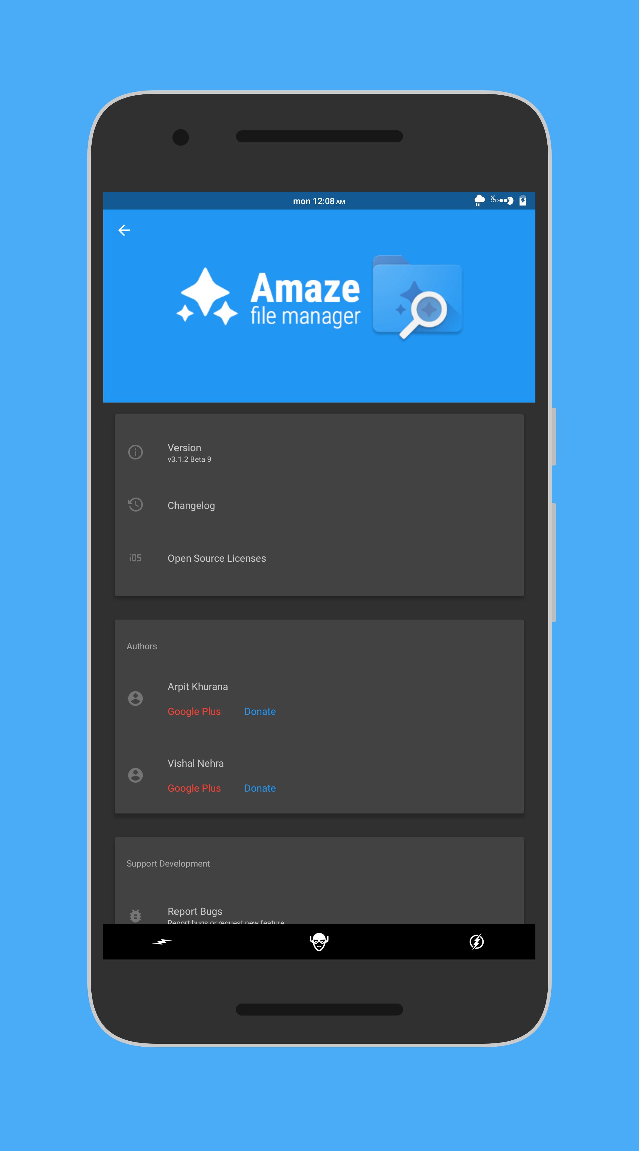 Amaze File Manager Team Amaze