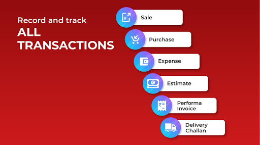 Invoicing, Billing, GST, Inventory, Accounting apktram screenshots 5