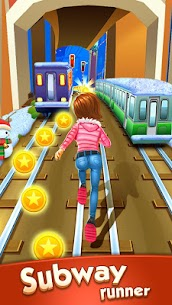 Download Subway Princess Runner (MOD, Unlimited Money) free on android 9
