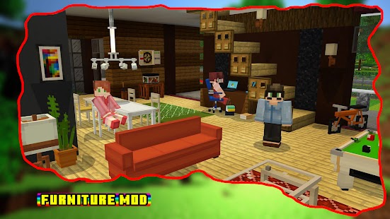 Furniture mod for minecraft pe Screenshot