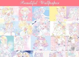 Wallpaper Flowery Kiss