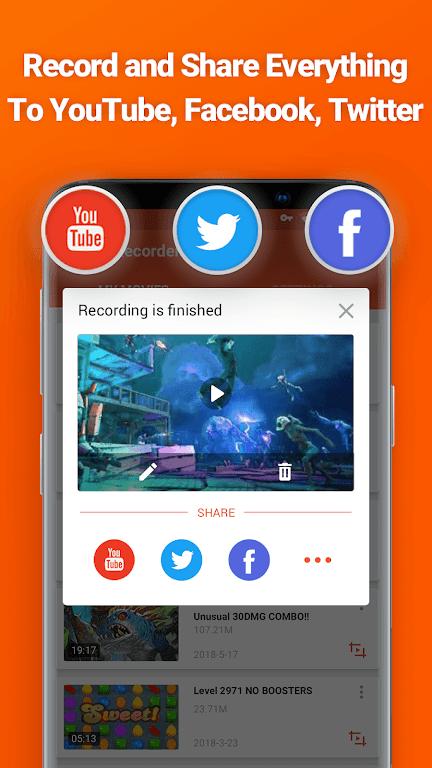 Screen Recorder, Video Recorder, V Recorder Editor  poster 5