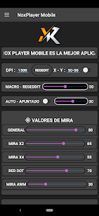 MacroNox Mobile – Regedit FF – Acelerar DPI 1