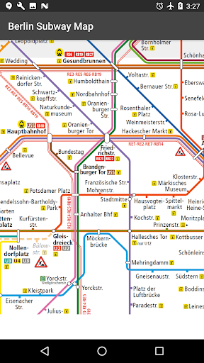 Berlin Subway Map (U Bahn and S Bahn) 3.2.12 Screenshots 2