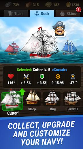 Pirates & Puzzles - PVP Pirate Battles & Match 3 Apkfinish screenshots 12
