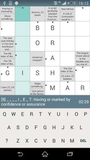 Crosswords CW-2.2.7 screenshots 2