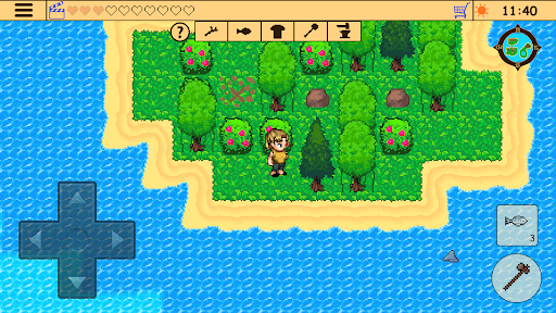 Survival RPG: Lost Treasure Adventure Retro 2d  screenshots 7