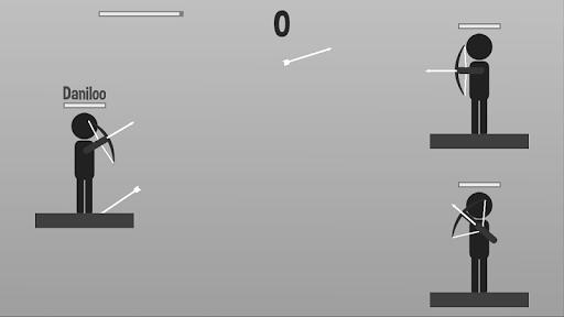stickman archer: archer vs archer screenshot 3