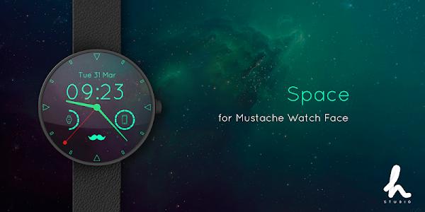 Mustache Watch Face 3.17