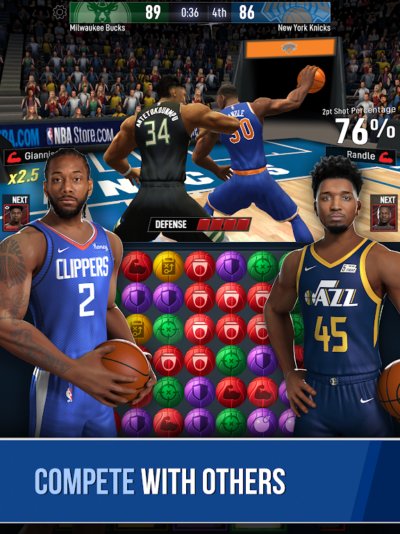 NBA Ball Stars: Play with your Favorite NBA Stars poster 16