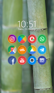 Cuticon Round - Icon Pack 5.1 (Patched)