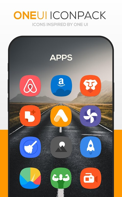 ONE UI Icon Pack poster 2