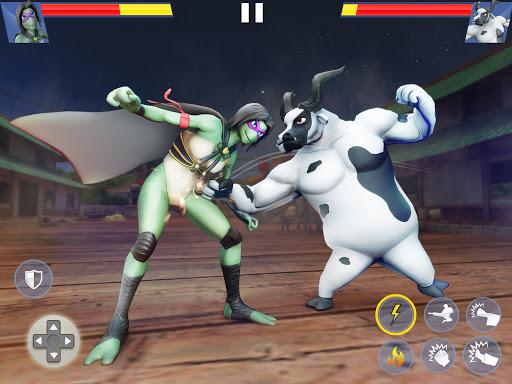 Kung Fu Animal Fighting Games: Wild Karate Fighter