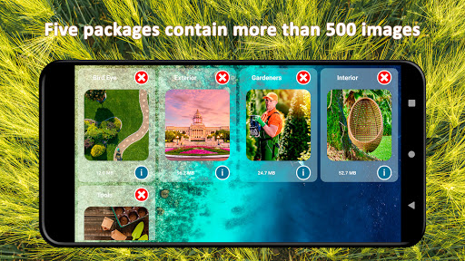 Residential Gardens Merge Puzzle apklade screenshots 1