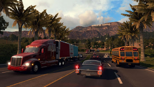 American Truck Real Driving Cargo Simulator 2021 apkpoly screenshots 4