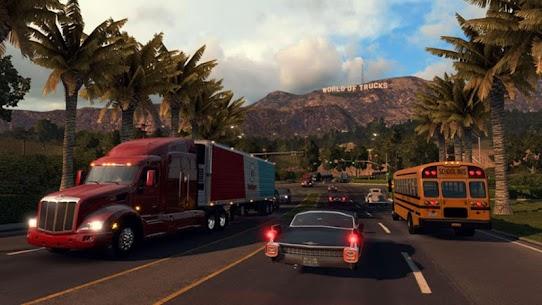 American Truck Real Driving Cargo Simulator 2021 Apk Download New 2021 4