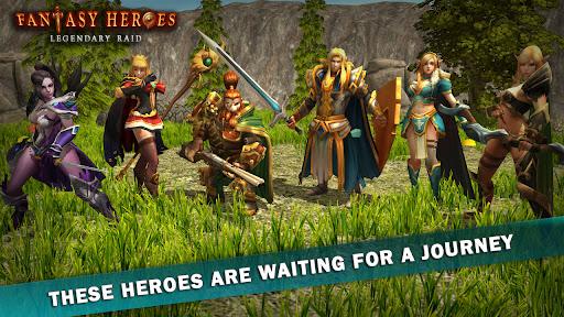 Fantasy Heroes: Legendary Raid RPG Action Offline  screenshots 1