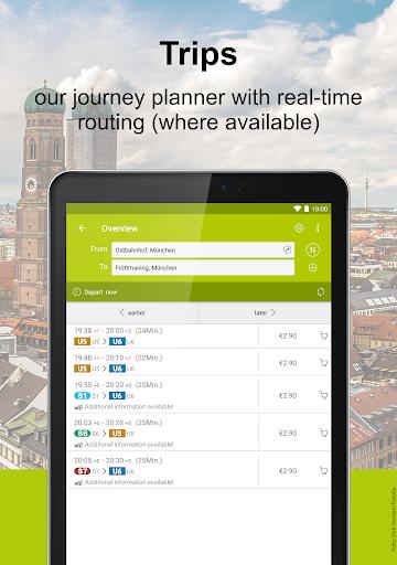 MVV-App u2013 Munich Journey Planner & Mobile Tickets  Screenshots 10