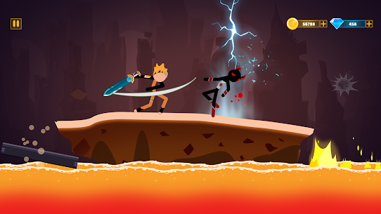 Supreme Stickman Battle Warrior: Duelist Fight Mod Apk 1.13 (A Lot of Money) 1