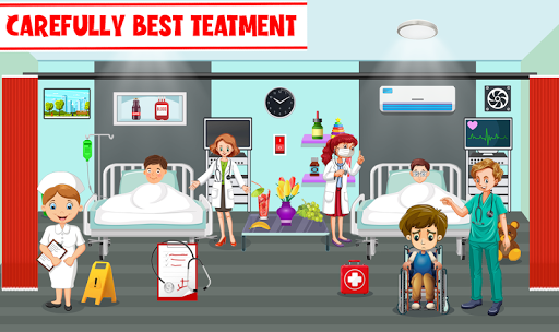 My Pretend Play Hospital Games: Doctor Town Life  screenshots 9