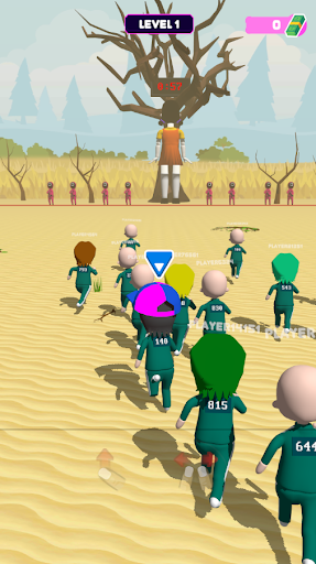 Squid Game 3D: Online Squids Game screenshot 4
