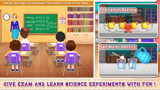 My School Teacher Classroom Fun apkpoly screenshots 1