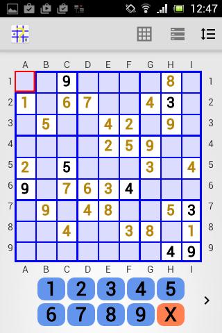 sudoku helper free edition screenshot 1