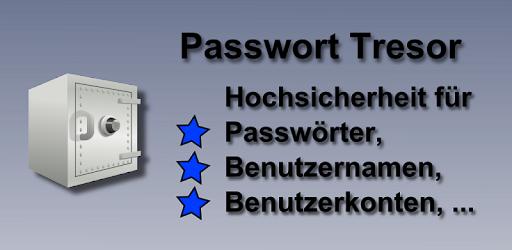 Passwort Tresor App