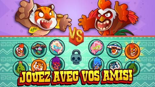 Code Triche UFB Lucha Libre: Fight Game (Astuce) APK MOD screenshots 3