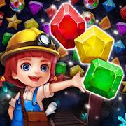Jewels Cave Crush Mania : Match 3 Puzzle
