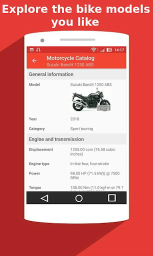 Motorcycle Catalog -  All Moto Information App 2.5 Screenshots 5