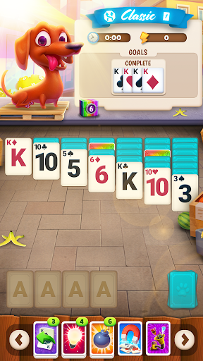 solitaire pets adventure - free solitaire fun game screenshot 1