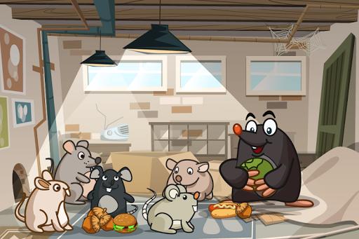 Mole's Adventure - Story with Logic Games Free 2.1.0 screenshots 1